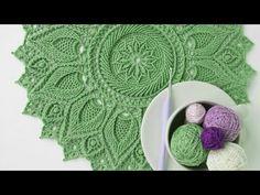 Lindas toalhas redondas em crochê para Inspiração (Crédito nas imagens) - YouTube