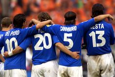 Azzuri - Del Piero / Totti / Fabio Cannavaro / Nesta