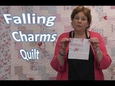 Just Because It's Easy Doesn't Mean It's Not Beautiful…This Falling Charms Quilt Is The One That We Want! – Crafty House