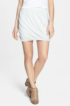 platinum-finds ~ Products ~ Free People Heather Twisted Bubble Skirt Oatmeal Combo M ~ Shopify