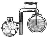 icy ball ammonia cooler