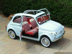 doyoulikevintage: 1964 fiat500D My blog posts