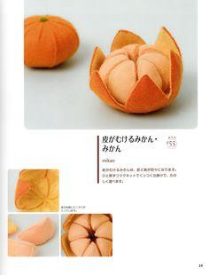Handmade Felt Veggies Japanese craft book by MeMeCraftwork