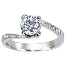 Dream engagement ring: An extra bonus...conflict free diamond & recycled metal.