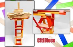 Endless combinations with #Citblocs!  #eco-friendly, #toy, #blocs, #wood, #buildanything, #kids