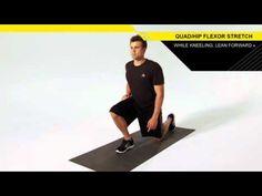 Quad Hip Flexor Stretch - Great for runners