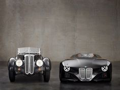 The past & the present! BMWs