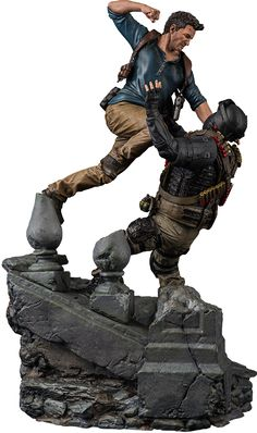Nathan Drake Statue