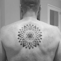 Sri Yantra Mandala #Oohh!CoolTattoo!