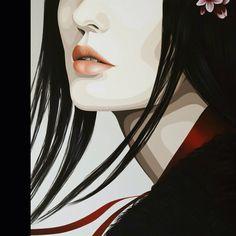 """Cherries and dreams"" by Duma Oil on canvas, 80 x 80 cm www.dumaarte.com"