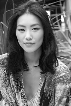 Messy Blunt Bob Inspiration // Liu Wen More