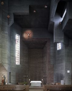 Gallery of Photography: Mid-Century Modern Churches by Fabrice Fouillet - 1