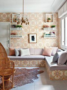 A Vintage, Soft-Toned Elegant Madrid Apartment |http://curatedinterior.com/inspiration/a-soft-toned-elegant-apartment/