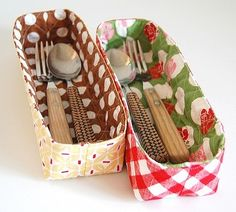 super-easy sewing pattern for fun quilted organizing baskets. Pin this tutorial. #sewingpatterns #baskets