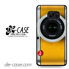 Silver Yelow Leica Camera DEAL-9597 Samsung Phonecase Cover For Samsung Galaxy Note 7