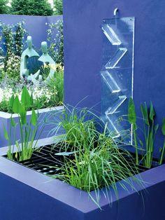 cascade fontaine de jardin et pi ce d eau projets modernes d co et design. Black Bedroom Furniture Sets. Home Design Ideas