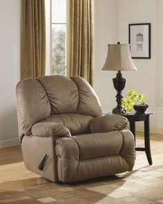 """The """"Duraplush™"""" rocker recliners feature soft upholstery and plush contemporary styling to create the ultimate in relaxing furniture that is perfect for any living environment.   #AccentChair  http://www.longislanddiscountfurniture.com/accent-chairs.html"""