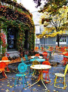Memorial Union Terrace In Fall | By Samiu0026buckaroo9. Wicker FurnitureDistressed  FurnitureOutdoor ...