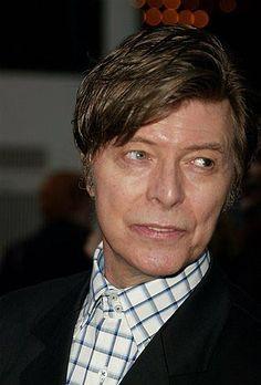 mature David Bowie