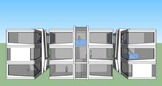 3 vistas de la Casa Teide Luxury, prototipo para el 2015.
