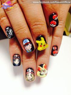 Pokemon : Character nail art