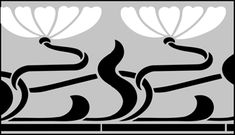 Click to see the actual DE219 - Border No 127 stencil design.