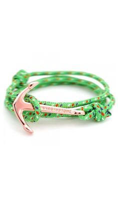 Anchor Bracelets Barcelona Green
