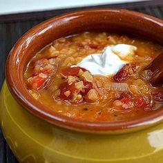 Jack's magic bean soup