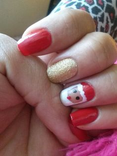 christmas nail design #christmasnails