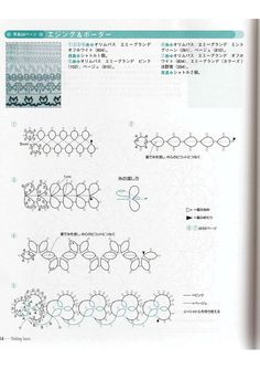 Tatting lace japanese craft ebook pattern PDF by LibraryPatterns