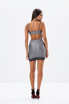 Labellamafia Silver Dress – DXHIVE Vanity Silver molding dress, casual or not you decide! 71%VISCOSE 14%POLYESTER13%POLYAMIDE 2%ELASTANE #dxhivevanity#labellamafia#lbmdresses#sportivedresses #gold#beauty#sexydress#silverdress#metallicdress#sportswear#casualwear#labellamafialeggings#leggings#sport#fitness #fitnessgirl#streetwear#beautiful#dress#openbackdress