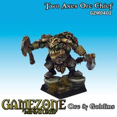 Two Axes Orc Chief  GameZone