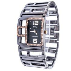 Ρολόγια : Ρολόι Q&Q Γυναικείο Silver Bracelet Jewels, Silver, Shopping, Jewerly, Gemstones, Fine Jewelry, Gem, Jewelery, Jewelry