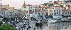 The island's capital Mytilene (Mitilini