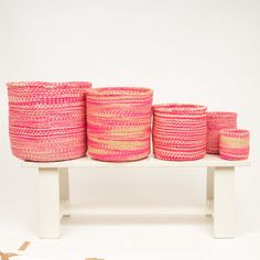 Neon Cloud Storage Basket