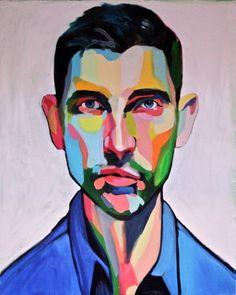 """Saatchi Online Artist Emma Tingård; Painting, """"Alex"""""""