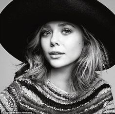 Elizabeth Olsen for V Magazine  photographed by Mark Abrahams