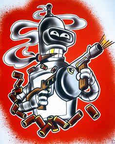 rick and bender tattoo & bender y rick + rick and bender + rick bender + landry bender and ricky garcia + rick and bender tattoo + rick bojack bender + rick homero bender + rick bender homer Today Cartoon, Cartoon Art, Futurama Tattoo, Anime Echii, Halloween Quotes, Funny Halloween, Kawaii Tattoo, Dope Cartoons, Adventure Time Finn