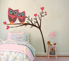 for our daughter's owl room