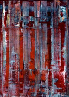 Gerhard Richter, Abstraktes Bild (Abstract Painting), 1992. Oil on canvas. 140cm H x 100cm W. [778-3]
