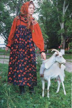 Folk costume ofVoronezh Governorate, Russia