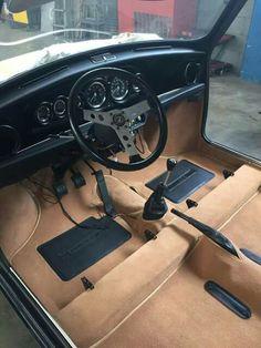 Classic Innocenti Mini Cooper 1300 Export