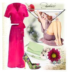 """Win a free Shahida Parides dress"" by irinavsl ❤ liked on Polyvore"