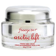Freeze 24-7 Age-Less Skin Care ArcticLift Firming Neck Cream.