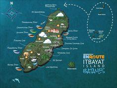 Updated Batanes Maps of Batan, Sabtang and Itbayat Islands Batanes, Filipiniana, Tourist Spots, Philippines Travel, Pinoy, Lighthouses, Illustrators, Asia, Map