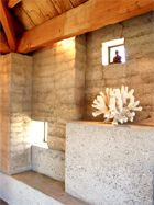 Rammed Earth Solar Homes Inc. Pavilion Architecture, Futuristic Architecture, Sustainable Architecture, Architecture Design, Residential Architecture, Contemporary Architecture, Rammed Earth Homes, Rammed Earth Wall, Natural Building