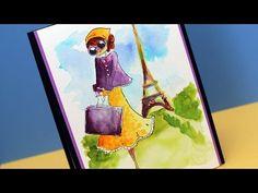 ▶ A Peerless (Watercolor!) Paris Stroll - YouTube