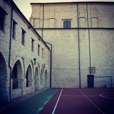 Campo da calcio gotico a Montelupone