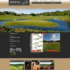 Redwood Falls Golf Club and the Sand Trap Website Design View our complete website design portfolio!  http://rvtechsolutions.com/design-portfolio/