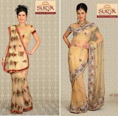 Buy Roopam Sarees for every occasion like wedding, party, festivals and get ready to steal the limelight for every occasion!Presenting the beautiful range of Roopam Sarees, Surya Sarees is happy to show its collection in myriad of colours and designs. Wedding Lehanga, Fancy Sarees, Saree Collection, Indian Sarees, Festivals, Sari, Range, Colours, Happy